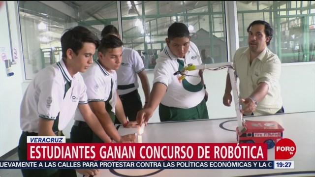 Foto: Estudiantes Veracruz Competirán Mundial Robótica Japón 7 Noviembre 2019