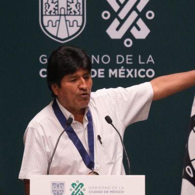 Mi delito es ser indígena y redistribuir la riqueza: Evo Morales