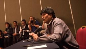 FOTO Evo Morales denuncia matanza de civiles en Bolivia (Cuartoscuro/Pedro Anza)