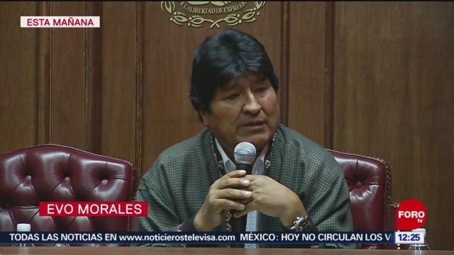 Evo Morales denuncia que persiste discriminación contra indígenas