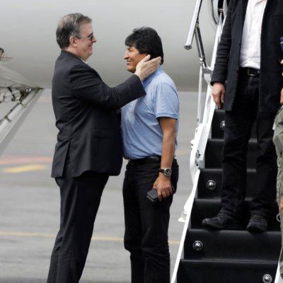 Evo Morales agradece a AMLO y México por salvarle la vida