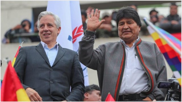 Foto: Evo Morales renuncia a la presidencia de Bolivia, 10 de noviembre de 2019 (EFE)