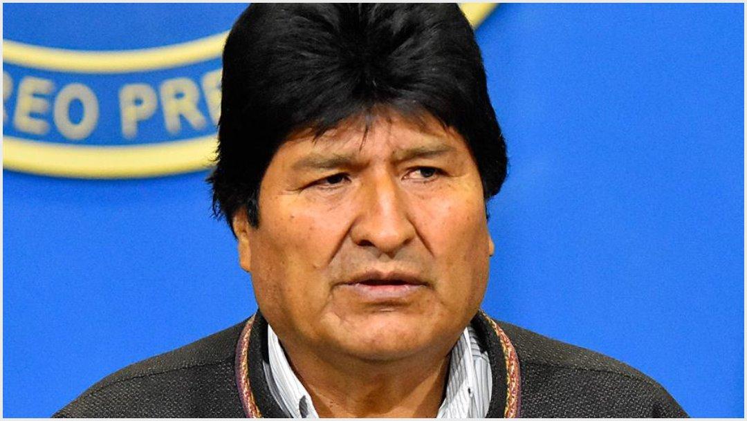 Imagen: Evo Morales aseguró que su único pecado fue ser indígena, 10 de noviembre de 2019 (EFE)