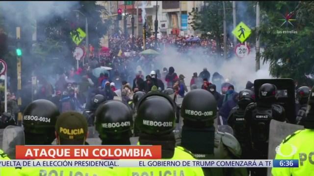 Explota coche bomba cerca de estación de policía en Santander, Colombia