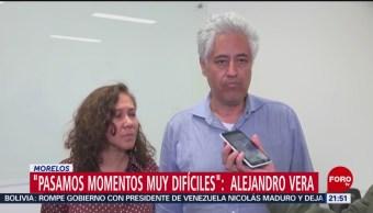 FOTO: Exrector de la Universidad de Morelos narra lo que sufrió durante secuestro, 15 noviembre 2019