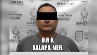 """Foto:Ejecutan orden de aprehensión contra de Facundo """"N"""" por su presunta participación en el homicidio de un periodista, 14 noviembre 2019"""