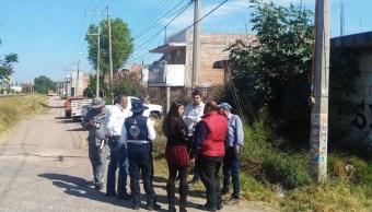 FOTO Fallas geológicas afectan viviendas en Guanajuato