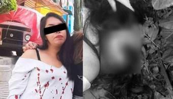 Foto: Verónica salió de su casa a una fiesta de disfraces por el Día de Muertos y fue hallada muerta cerca de su domicilio