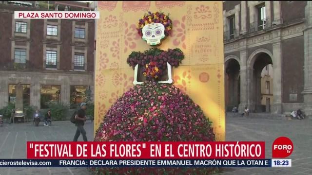 FOTO: Festival De Las Flores Centro Histórico CDMX,