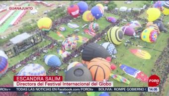 FOTO: Festival Internacional del Globo en León, Guanajuato, 16 noviembre 2019