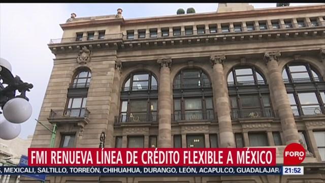 Foto: Fmi Renueva México Crédito Millones Dólares 25 Noviembre 2019