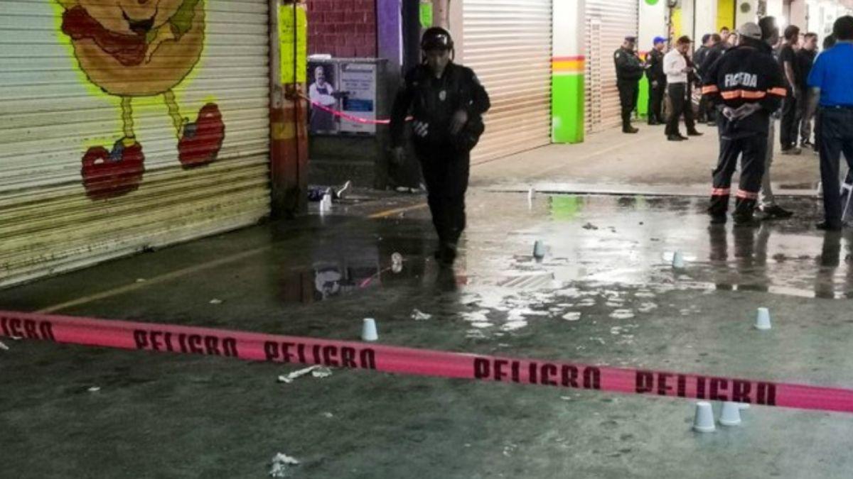 Foto: Un presunto asaltante murió en los pasillos de la Central de Abasto en la Ciudad de México