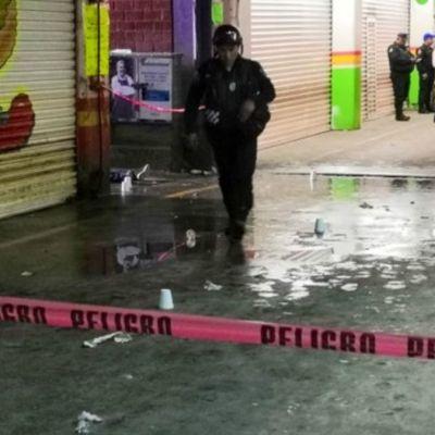Balacera en Central Abasto deja un muerto y tres heridos