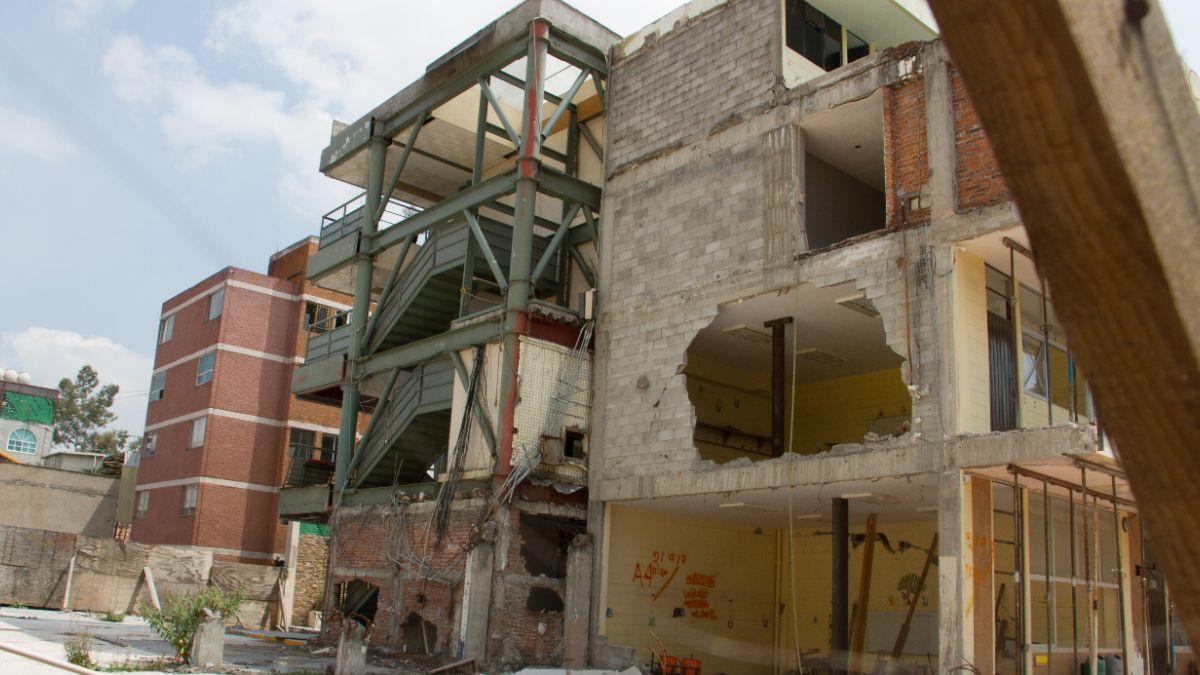 Foto: El colegio Rébsamen colapsó durante el sismo del 19 de septiembre de 2017 en la Ciudad de México. Cuartoscuro