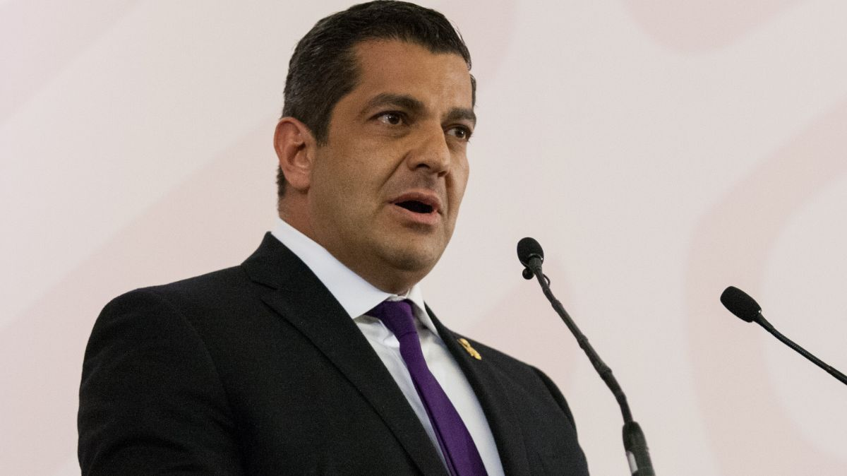 Foto: Ricardo Peralta Saucedo, subsecretario de la Secretaría de Gobernación (Segob). Cuartoscuro