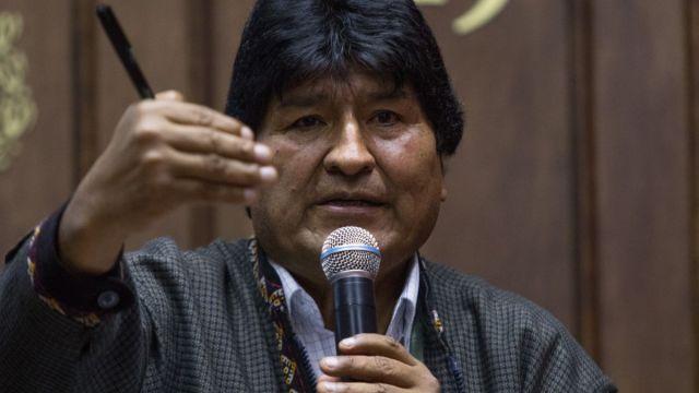 Foto: Evo Morales, expresidente de Bolivia. Cuartoscuro