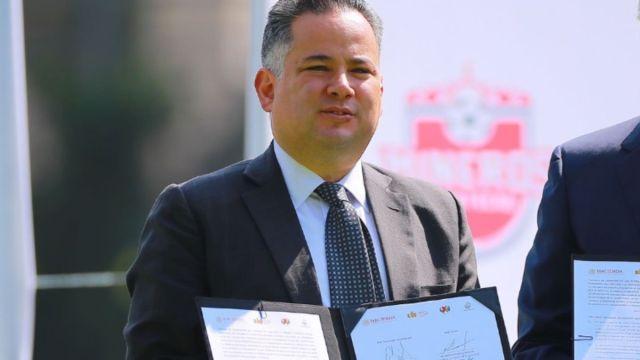 Foto: Santiago Nieto, titular de la Unidad de Inteligencia Financiera de Hacienda