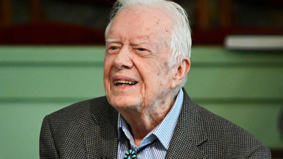 Foto: Jimmy Carter, expresidente de Estados Unidos. AP