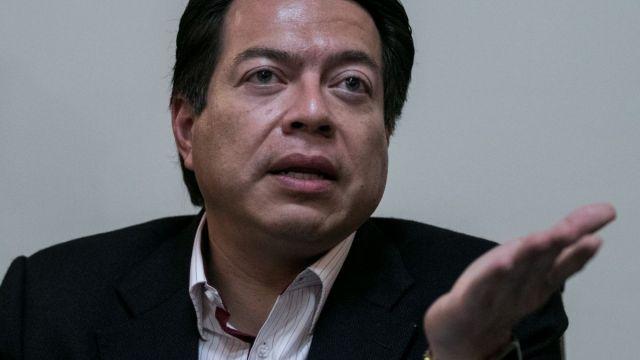 Foto: Mario Delgado, coordinador de Morena en la Cámara de Diputados. Cuartoscuro