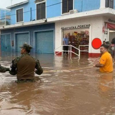 Fotos y videos: Mazatlán se inunda por fuertes lluvias