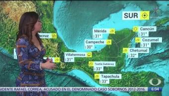 Frente frío 11 provocará lluvias en norte y oriente de México