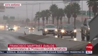 FOTO: Frente frío afecta 28 municipios Coahuila
