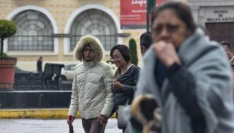 Frío afecta gran parte del país.