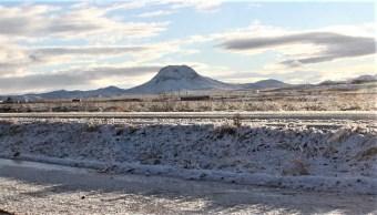 Chihuahua, Durango, BC y Sonora esperan heladas, temperaturas bajo cero y caída de aguanieve