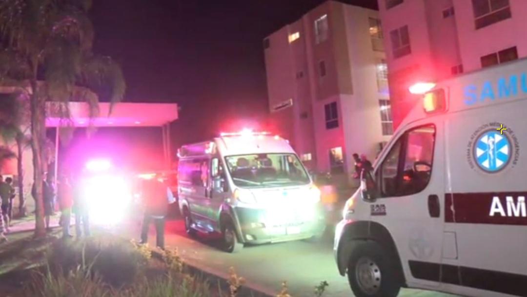 Foto: Los bomberos determinaron los apartamentos no presentaron daños y probablemente la explosión no fracturó la estructura, 23 de noviembre de 2019 (Noticieros Televisa)