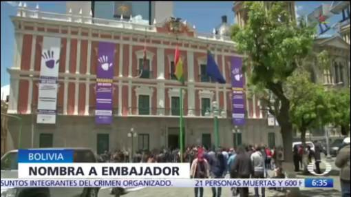 Gobierno interino de Bolivia nombra a embajador en Estados Unidos