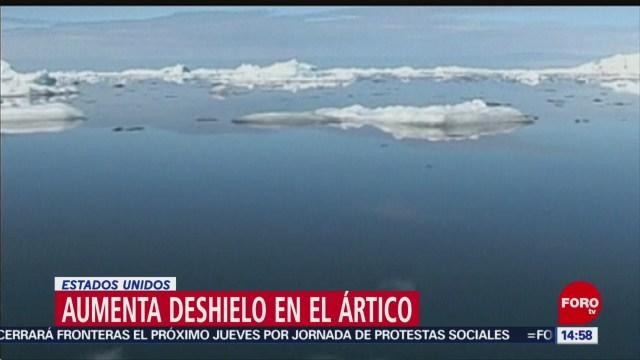 FOTO: Hielo del Ártico se redujo en octubre, 18 noviembre 2019
