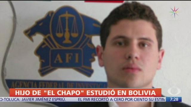 Hijo de 'El Chapo' Guzmán habría estudiado en Bolivia