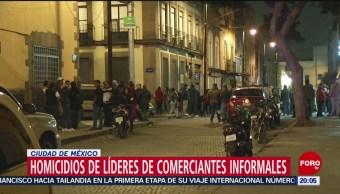 Foto: Homicidios Líderes Comerciantes Extorsiones Cdmx 19 Noviembre 2019