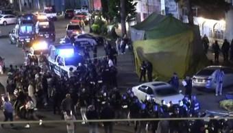 FOTO Reportan tres homicidios en Valle de México (Noticieros Televisa)