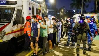 FOTO Hong Kong: Prohibición de usar máscaras es inconstitucional (Reuters)