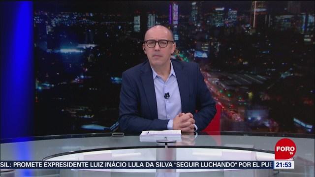 Foto: Hora 21 Julio Patán Programa Completo 8 Noviembre 2019