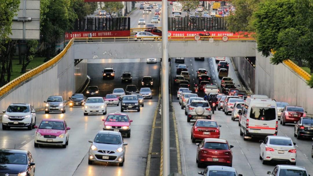 Imagen: Este lunes descansan los automóviles con engomado amarillo de las 5:00 a las 22:00 horas