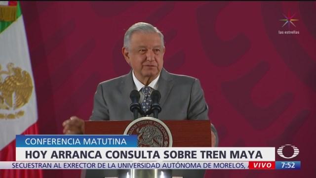 Foto: Hoy arranca proceso consulta sobre Tren Maya