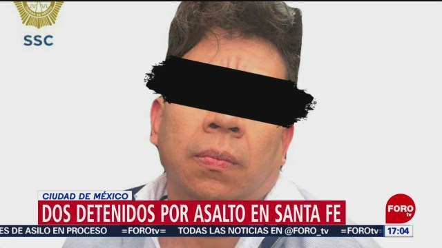 FOTO: Identifican capturan presuntos asaltantes universidad Santa Fe