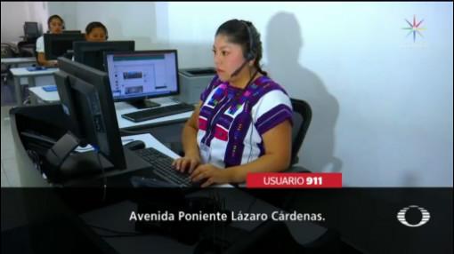 Foto: Indígenas Pueden Reportar 911 Tzotzil Tzeltal 19 Noviembre 2019