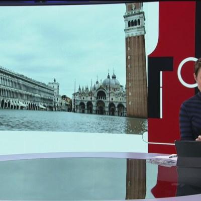 Inundaciones en Venencia continúan en un 70 por ciento