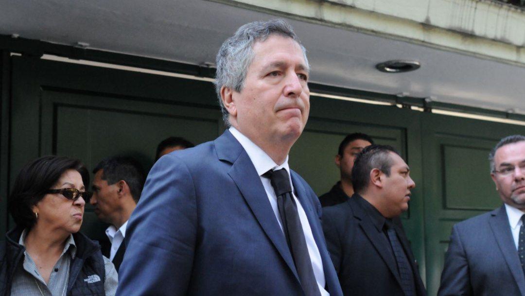 Imagen: Jorge Vergara, presidente fundador de Grupo Omnilife Chivas, el 15 de noviembre de 2019 (Foto: Diego Simón Sánchez /Cuartoscuro.com)