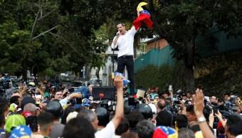 Juan Guaidó intenta revivir protestas en Venezuela.