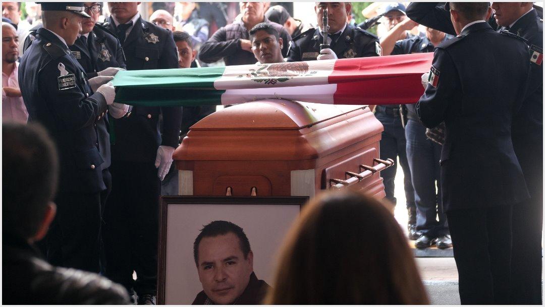 Foto: Exigen justicia por asesinato de alcalde de Valle de Chalco, 3 de noviembre de 2019 (GRACIELA LÓPEZ /CUARTOSCURO.COM)