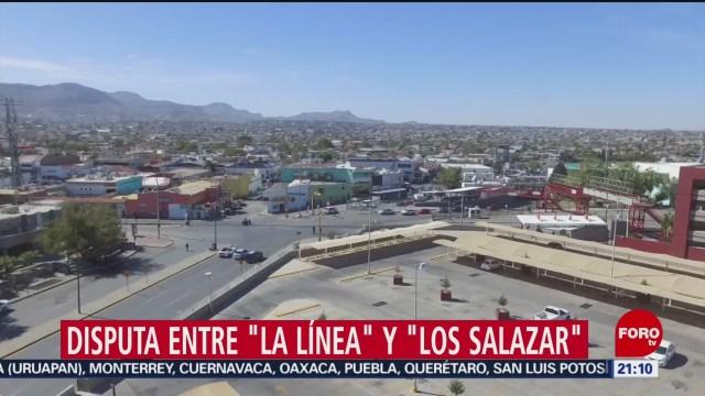 Foto: La Línea Los Salazar Disputan Drogas Sonora Chihuahua 6 Noviembre 2019