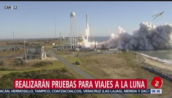 Lanzan cohete con suministros rumbo a la Estación Espacial Internacional