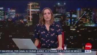 Foto: Las Noticias Ana Francisca Vega Programa Completo Forotv 4 Noviembre 2019