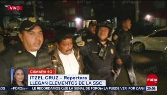 FOTO: Liberan a alcalde de Guerrero retenido en la CDMX, 12 noviembre 2019