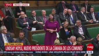 FOTO: Lindsay Hoyle nuevo presidente Cámara Comunes