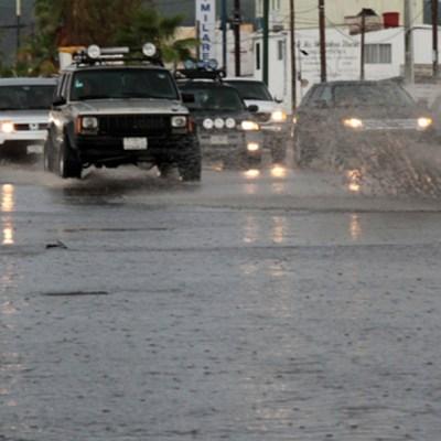 Pronostican lluvias muy fuertes en Baja California Sur